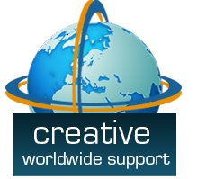 Creative worldwide support